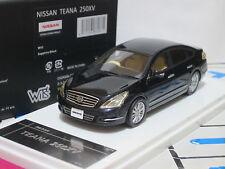 Nissan Teana Maxima 250XV J32 2012 black 1/43 WITs Resin (w74)