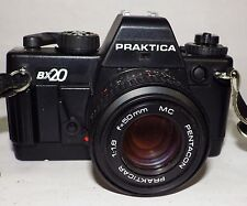 Praktica BX20, 35mm Film Camera, Pentacon 50mm MC Lens