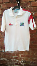 ENGLAND IRB WORLD CUP 2003 COLLECTION AUSTRALIA WHITE & RED POLO SHIRT M?