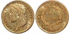 NAPOLEON I 40 FRANCS 1811 A   F.541 OR GOLD