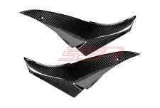 2008 2009 Kawasaki ZX10R Tank Seat Side Panel Cover Fairings Twill Carbon Fiber