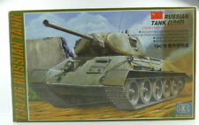 #e3144 modelo kit lee no 00307 tanques ruso 1942 t34/76 escala 1:35