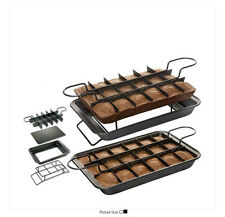 Non-Stick Brownie Pan Set with Loose Base