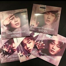 SHINee Fan club ver. 5 CD WINTER WONDERLAND ONEW JONGHYUN KEY MINHO TAEMIN
