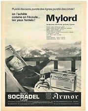 PUBLICITE  1960  SOCRADEL ARMOR   collection   MYLORD
