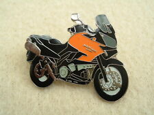GENUINE KAWASAKI KLV1000 KLV 1000 PIN BADGE ORANGE