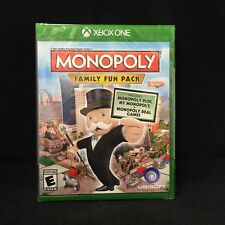 Monopoly Family Fun Pack  (Microsoft Xbox One, 2014) Brand New