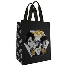 "Doctor Who 50th Anniversary Day of The Doctor Large Tote Bag 14"" x 14"""
