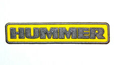 HUMMER Auto Sports Luxury SUVs Trucks  SUTs Jeans Jacket T-Shirt Iron on Patch