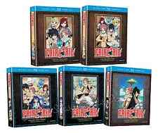 Fairy Tail Tale Anime Series Complete Seasons 1 2 3 4 5 Box/BluRay DVD Sets NEW!