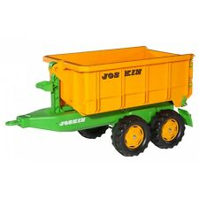 Rolly Toys Joskin Container Anhänger Kipper Trailer orange