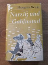 Narcissus and Goldmund by Herman Hesse -early German Edition 1955 HCDJ - VG+