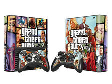 Vinyl Skin Sticker Cover For XBOX 360E Console +Free Controller Decal TN35