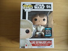 FUNKO POP STAR WARS CELEBRATION 2016 LUKE SKYWALKER BESPIN ENCOUNTER EXCLUSIVE