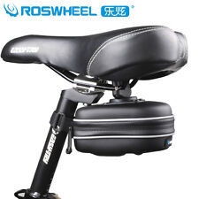 ROSWHEEL Waterproof Bike Bicycle Cycling Saddle Bag Tail Rear Storage Seat