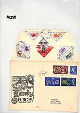 AL298 1961 GB Devon Barnsteple to London. LUNDY Europa First Day Cover