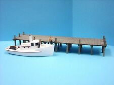 N Scale Laser Cut Wharf Dock Kit
