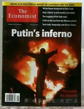 THE ECONOMIST Magazine PUTINS INFERNO Battle of UKRAINE ITALYS RENZI