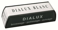 DIALUX BLANC (WHITE) METAL FINE POLISHING COMPOUND QTY 1 100G BAR (4oz)