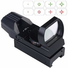 Top Tactical Holographic Reflex Red Green Dot Sight 4 Type Reticle for 20mm Rail