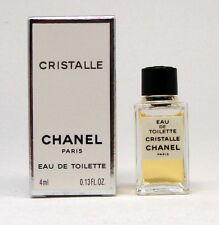 CRISTALLE CHANEL EAU DE TOILETTE 4 ML. 0.13 FL.OZ. MINI PERFUME VINTAGE