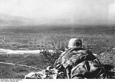 German Army Soldier Monte Cassino Italy 1944 World War 2 Reprint Photo 6x4 Inch