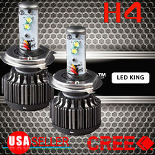 2x 80W 8000lm Cree LED Headlight Kit H4 9003 HB2 Hi/Low beams 6000K White Bulbs