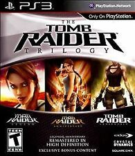 Tomb Raider: Trilogy (Sony PlayStation 3, 2011) DISC IS MINT