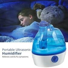 Ultrasonic Humidifier Cool Mist Filter Free Portable w/ 1.2 Gallon Daily Output