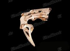 Cool Golden Gothic Punk Style Ring Rock Finger Claw Retro Long Armor Vintage New