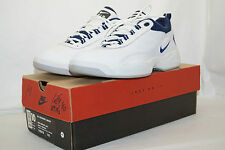 NIKE AIR RECKONING INDOOR TENNIS 1998 Gr. 44 weiss blau  140678 141 incl BOX