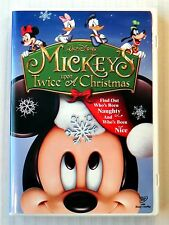 Mickey's Twice Upon A Christmas ~ Rare DVD ~ Disney Holiday Xmas Movie