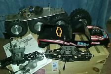 Kyosho USA 1 Nitro Crusher RC 4x4 scale Monster Truck project or USA-1 parts lot