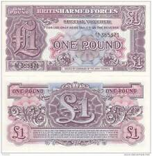 BRITISH ARMED FORCES 1 Pound 1948  FDS UNC