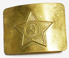Original Soviet Russian Military Soldier Army Belt Buckle USSR Uniform Surplus