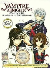 Vampire Knight DVD : Complete Season 1 & 2 (English Dubbed)