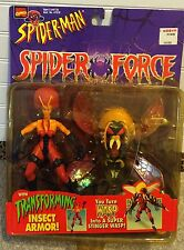 Spider Man Wasp Spider Force with Transforming Insect Armor Marvel Comics