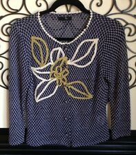 anthropologie ryu adorable Delicate knit top cardigan size medium