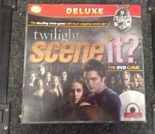 DELUXE SCENE IT?  THE TWILIGHT SAGA DVD GAME - NEW FACTORY SEALED