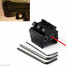 Tactical Detachable Picatinny Rail Red Laser Sight For Glock Rifle Handgun Ruger