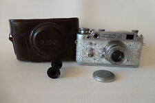 FED-2 Russian Rangefinder camera copy Leica 35 mm Lens FED 3.5/50 hand painted