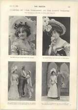 1901 Gertie Millar Maidie Hope Miss Claire Romaine Earl Amherst