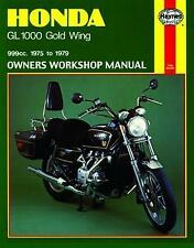 HAYNES Repair Manual - Honda Gold Wing GL1000 (1975-1979) M309 70-1003 HM-309