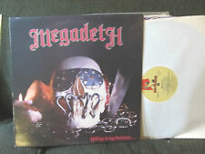 MEGADETH KILLING IS MY BUSINESS LP MUSIC FOR NATIONS ORIG 1985 slayer metallica