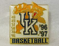 Lot of 1 University Of Kentucky Wildcats Basketball 1996/97 Lapel PINS Free Ship