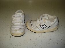 New Balance 502 Baby Boy Shoes Size 7 L@@K !!! White Navy Blue