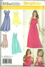 S1510 Girl's Plus Special Dress Bolero Sizes 8.5-16.5 Simplicity Sewing Pattern