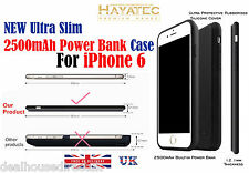 External Battery Charger Case Ultra Slim Power Bank 2500mAh for iPhone 6 6s UK