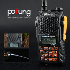 Pofung UV-6R UHF/VHF Dual Band Two-way Radio Handheld FM Walkie Talkie CTCSS DCS