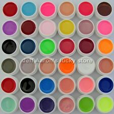 36 Color Solid UV Gel  Nail Art Creative Manicure Decoration DIY Builder Tip Set